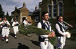 Rush bearing Ceremony Whitechurch Morris Dancers     Wingrave Buckinghamshire.