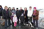 Members of the Parents Council, parents and children at the Turning of the First Sod on the Site of the new school on the Bryanstown Crossroute...(Photo credit should read Jenny Matthews www.newsfile.ie)....This Picture has been sent you under the conditions enclosed by:.Newsfile Ltd..The Studio,.Millmount Abbey,.Drogheda,.Co Meath..Ireland..Tel: +353(0)41-9871240.Fax: +353(0)41-9871260.GSM: +353(0)86-2500958.email: pictures@newsfile.ie.www.newsfile.ie.