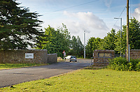 Pictured: HMP Parc Prison in Bridgend, Wales, UK. Friday 15 June 2018<br /> Re: A prison officer who sent romantic messages to an inmate has is due to be sentenced at Cardiff Crown Court in Wales, UK.<br /> Rebecca Rogers, 38, was working at HMP Parc in Bridgend when she met the man; however he was later moved to another prison.  Rogers kept contact with him sending a total of 26 letters of a personal nature.<br /> During that time, Rogers became aware that the prisoner was in possession of a mobile phone; an item which is prohibited.  She did not report the fact until six weeks later.