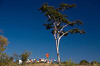 Pedras de Maria da Cruz _ MG, Brasil...Roupas secando no varal em um pasto em Pedras de Maria da Cruz, Minas Gerais...Clothes drying on clothesline in a meadow in Pedra de Maria da Cruz, Minas Gerais...Foto: LEO DRUMOND /  NITRO