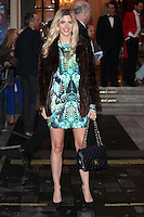 Ashley James arriving for the I Can't Sing Press Night, at the Paladium, London. 26/03/2014 Picture by: Alexandra Glen / Featureflash