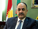 Iraq 2012 <br />  Hakim Qadir in his office of PUK politburo in Suleimania