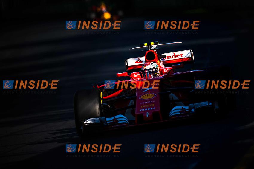 Kimi Raikkonen (FIN) Ferrari SF70-H at Formula One World Championship, Rd1, Australian Grand Prix, Race, Albert Park, Melbourne, Australia, Sunday 26 March 2017.<br /> Foto Sutton/Panoramic/Insidefoto