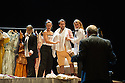 Edinburgh, UK. 12.08.2015. Director and conductor Ivan Fischer, presents THE MARRIAGE OF FIGARO, by Wolfgang Amadeus Mozart, at the Festival Theatre, as part of the Edinburgh International Festival. The production features the Budapest Festival Orchestra, on stage, and stars Sylvia Schwartz (as Susanna) and <br /> Hanno M&uuml;ller-Brachmann (as Figaro). Photograph &copy; Jane Hobson.