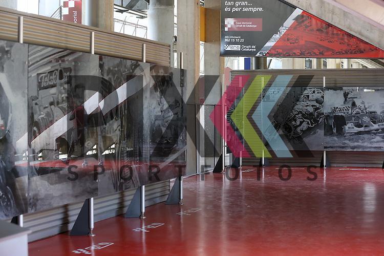 Barcelona, 10.05.15, Motorsport, GP Spanien 2015 : Motorsport Kunst-Ausstellung<br /> <br /> Foto &copy; P-I-X.org *** Foto ist honorarpflichtig! *** Auf Anfrage in hoeherer Qualitaet/Aufloesung. Belegexemplar erbeten. Veroeffentlichung ausschliesslich fuer journalistisch-publizistische Zwecke. For editorial use only.
