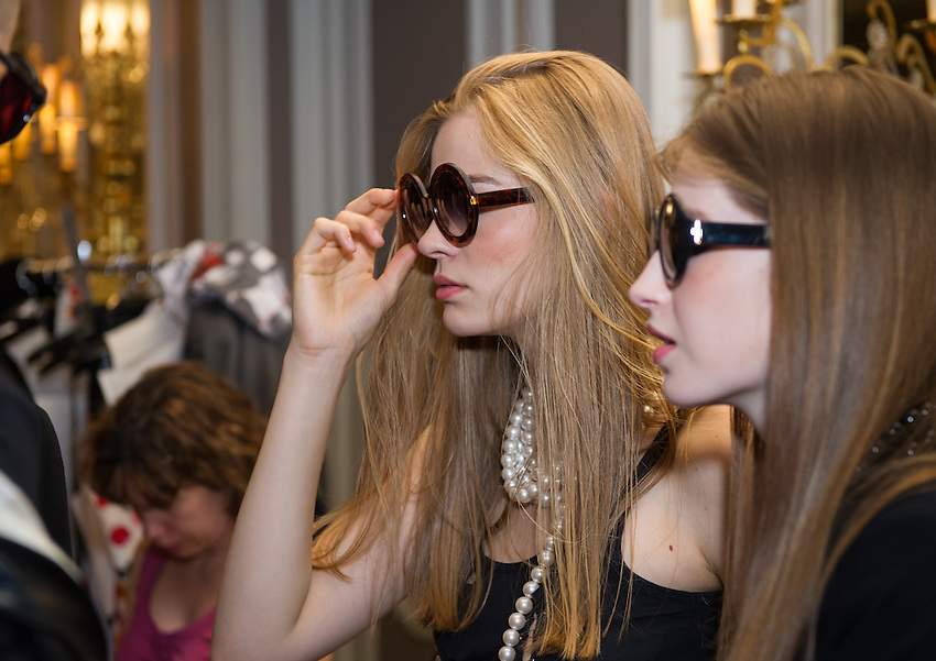 The Rynshu Spring Summer collection, forming part of Paris Fashion week 2012, at the Westin Paris - Vendome hotel at 3 rue de Castiglione, 75001 Paris. Sunday 1st July 2012.