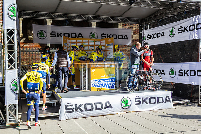 Tinkoff-Saxo Bank, Vattenfall Cyclassics, Hamburg, Germany, 24 August 2014, Photo by Thomas van Bracht