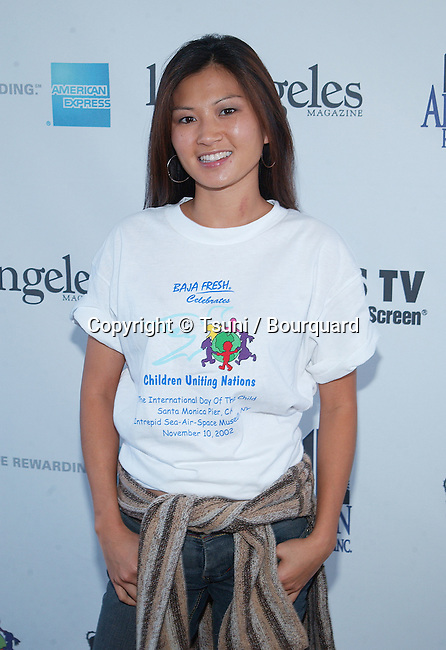 Michelle Krusiec arriving at the 2002 International Day of the Child At-Risk at Santa Monica Pier in Los Angeles. November 10, 2002.           -            KrusiecMichelle07.jpg
