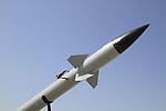 The Tamir interceptor missile of Iron Dome  Ballistic Missile Defense, a missile system designed to intercept and destroy short-range rockets