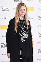 at The Design Museum opening party with Vogue, Kensington, London.<br /> <br /> <br /> ©Ash Knotek  D3203  22/11/2016