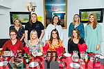 The staff of Sunflowers Childcare Centre in Tralee, enjoying the evening in Cassidys on Friday.<br /> Seated l to r: Jennifer Shanahan, Kate Guerin, Ciara O'Sullivan and Emer O'Mahoney.<br /> Back l to r: Catriona O'Shea, Aisling McMahon, Devina O'Neill, Barbara Commane and Rachel McCarthy.
