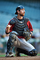Arizona Diamondbacks Francis Christy (31) during an Instructional League game against the Oakland Athletics on October 15, 2016 at Chase Field in Phoenix, Arizona.  (Mike Janes/Four Seam Images)