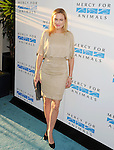 WEST HOLLYWOOD, CA- SEPTEMBER 12: Actress Elaine Hendrix attends Mercy For Animals 15th Anniversary Gala at The London on September 12, 2014 in West Hollywood, California.