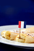 Royalty free stock photo of French Crepes