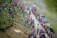 Port de Balès (HC/1755m/11.7km/7.7%)<br /> <br /> 2014 Tour de France<br /> stage 16: Carcassonne - Bagnères-de-Luchon (237km)