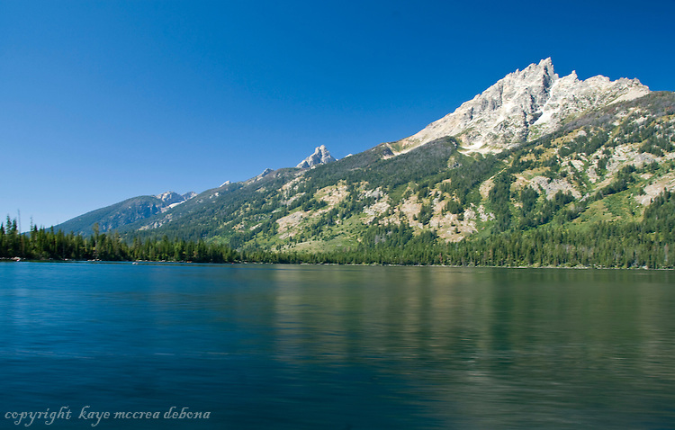 Grand Tetons and Jenny Lake