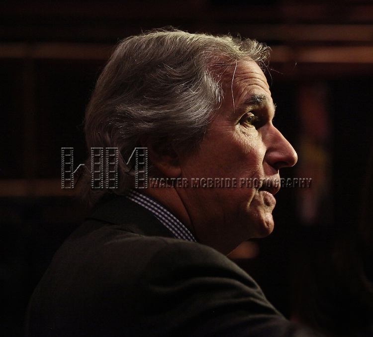 """Actor Henry Winkler attends press event to introduce the cast and creators of the new Broadway play """"The Performers""""at the Hard Rock Cafe on Tuesday, Sept. 25, 2012 in New York."""