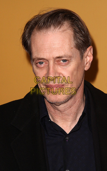 "STEVE BUSCEMI .Premiere of ""The Messenger"" at Clearview Chelsea Cinemas, New York, NY, USA, .8th November 2009..portrait headshot black.CAP/ADM/PZ.©Paul Zimmerman/AdMedia/Capital Pictures."