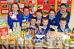 GOOD MORNING: Pupils from Knocknagree National School who took part in a Healthy Breakfast Week at the school..Front L/r. Liam Sugrue, Gearoid Sheehy, Denis Ring..Back L/r. Una O'Mahony, Matthew Flello, Danielle  O'Connor, Abigail O'Mahony and Maura O'Mahony.   Copyright Kerry's Eye 2008