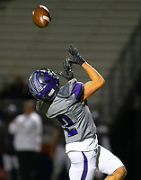 Fayetteville wide receiver Connor Flannigan on his way to score a touchdown after a long pass from Hank Gibbs against Rogers Heritage at Gates Stadium, Rogers, AR on November 1, 2019 / Special to NWA Democrat Gazette David Beach
