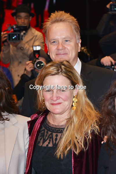 "Susanne Bier (Denmark, Director) and Tim Robbins (Actor, Director, Producer) attending the premier of the film ""Side Effects"" of the 63th International Berlinale Film Festival at Berlinale Palast. Berlin, 12.02.2013. ..Credit: Timm/face to face"