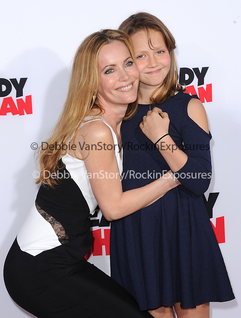 Leslie Mann and daughter attends The Twentieth Century Fox and Dreamwork Animation Holly-Woof Premiere of Mr. Peabody & Sherman Premiere held at The Regency Village Westwood in Westwood, California on March 05,2014                                                                               © 2014 Hollywood Press Agency