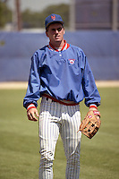 New York Mets Keith Miller during spring training circa 1990 at Tradition Field in Port St. Lucie, Florida.  (MJA/Four Seam Images)
