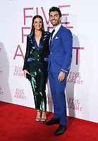 07 March 2019 - Westwood, California - Andy Grammer. &quot;Five Feet Apart&quot; Los Angeles Premiere held at the Fox Bruin Theatre. <br /> CAP/ADM/BT<br /> &copy;BT/ADM/Capital Pictures