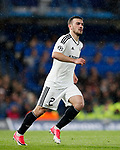 Qarabag's Gara Garayev in action during the champions league match at Stamford Bridge Stadium, London. Picture date 12th September 2017. Picture credit should read: David Klein/Sportimage