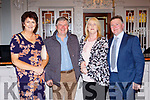 Enjoying the South West Harriers Hunt club social in the Killarney Avenue Hotel on Saturday night were l-r: Mary and Maurice Breen, Brendan and Angela McCarthy