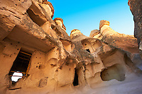 Early Christian church in the Fairy Chimneys near Zelve, Cappadocia Turkey