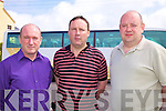 South Kerry Publicians unite l-r; Vincent Kidd - representing Valentia, Ger Curran - Waterville & Mike Horgan - Cahersiveen..Ref Sine?ad