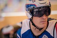 Ramon Sinkeldam (NED/Groupama-FDJ) pre-race focused<br /> <br /> Stage 3 (Team Time Trial): Cholet > Cholet (35km)<br /> <br /> 105th Tour de France 2018<br /> ©kramon