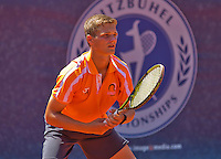 Austria, Kitzbühel, Juli 18, 2015, Tennis,  Junior Davis Cup, ltr: Bart Stevens (NED) <br /> Photo: Tennisimages/Henk Koster