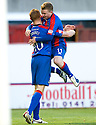 13/11/2010   Copyright  Pic : James Stewart.sct_jspa023_hamilton_v_ict  .::  ADAM ROONEY IS CONGRATULATED BY JONATHAN HAYES AFTER HE SCORED THE FIRST.  ::.James Stewart Photography 19 Carronlea Drive, Falkirk. FK2 8DN      Vat Reg No. 607 6932 25.Telephone      : +44 (0)1324 570291 .Mobile              : +44 (0)7721 416997.E-mail  :  jim@jspa.co.uk.If you require further information then contact Jim Stewart on any of the numbers above.........