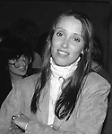 Shelley Duvall pictured in New York City on November 4, 1981.