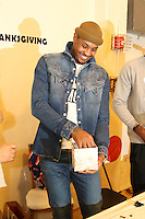 NEW YORK, NY - NOVEMBER 23, 2016 Carmelo Anthony attends the Educational Alliance Boys & Girls Club Thanksgiving Event, November 23, 2016 in New York City. Photo Credit: Walik Goshorn / Mediapunch