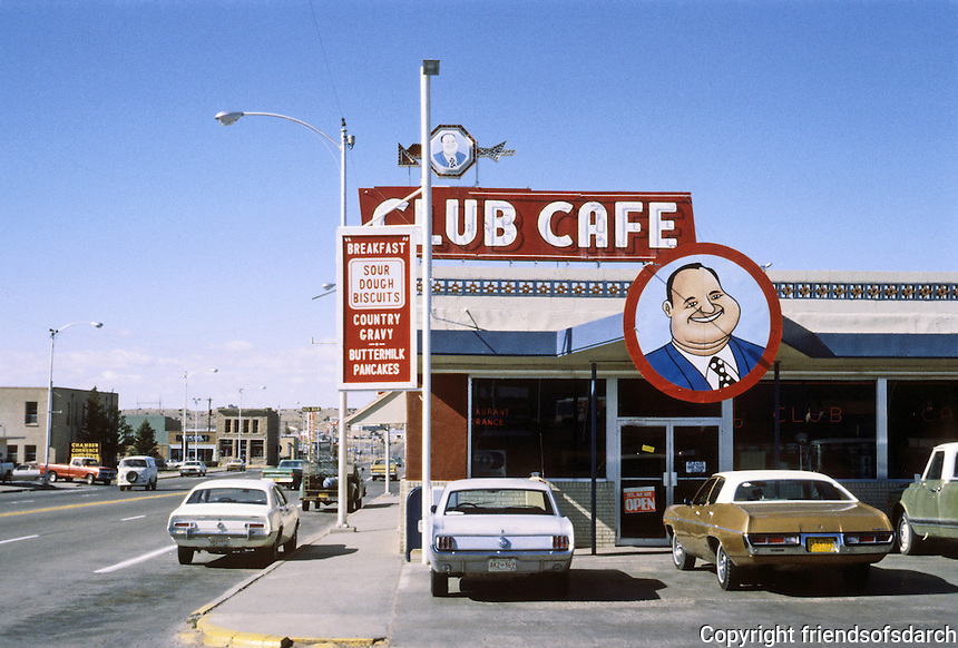 Santa Rosa: Club Cafe, New Mexico. Photo '77.