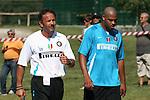 DB BRUNICO (BOLZANO) 17/07/2007 - ALLENAMENTO INTER / ADRIANO-MIHAILOVIC / FOTO SPORT IMAGE..Training..Training - Internazionale..1st January, 1970..--------------------..Sportimage +44 7980659747..admin@sportimage.co.uk..http://www.sportimage.co.uk/