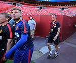 280714 Manchester Utd training Washington