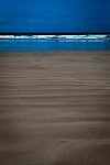 Sand ripples on Fermoyle Beach, on the Dingle Peninsula, Ireland,