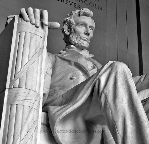 Lincolcn Memorial Washington DC<br /> Washington DC Stock Photography