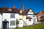Historic buildings on the green Marlborough, Wiltshire, England