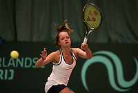 The Hague, The Netherlands, March 17, 2017,  De Rhijenhof, NOJK 14/18 years, Margriet Timmermans (NED)<br /> Photo: Tennisimages/Henk Koster