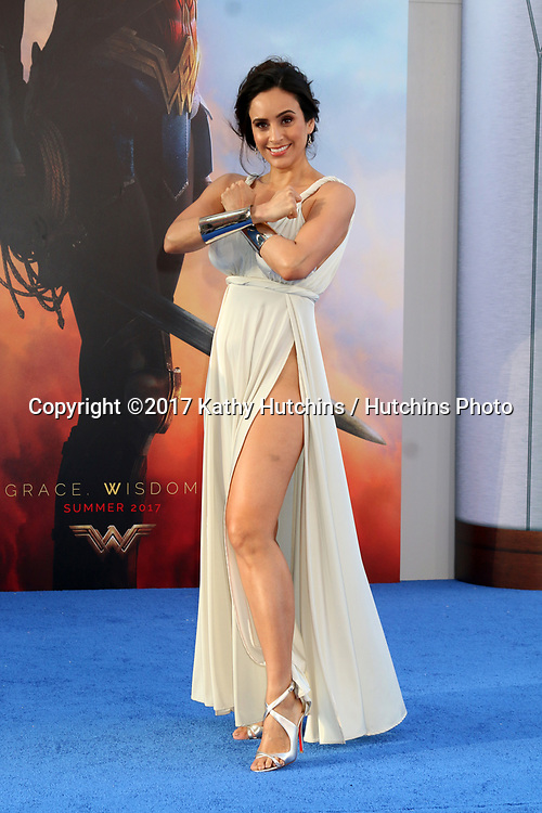 """LOS ANGELES - MAY 25:  Valerie Perez at the """"Wonder Woman"""" Los Angeles Premiere at the Pantages Theater on May 25, 2017 in Los Angeles, CA"""