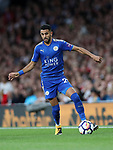 Leicester's Riyad Mahrez in action during the premier league match at the Emirates Stadium, London. Picture date 11th August 2017. Picture credit should read: David Klein/Sportimage