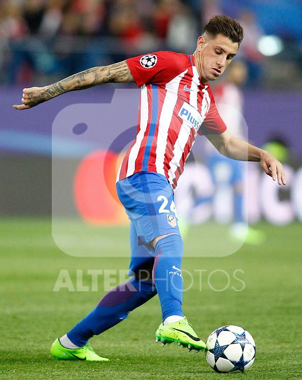 Atletico de Madrid's Jose Maria Gimenez during Champions League 2016/2017 Round of 16 2nd leg match. March 15,2017. (ALTERPHOTOS/Acero)