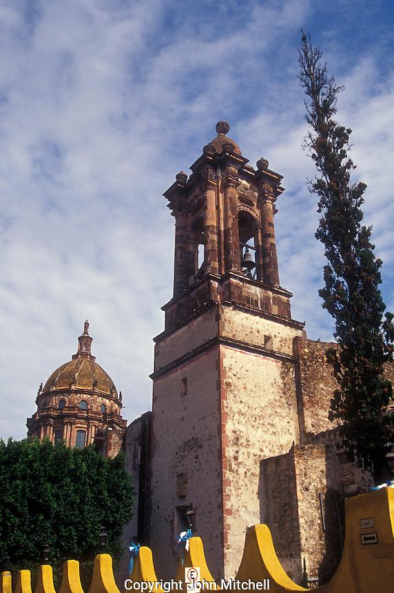The Templo  de la Concepcion in San Miguel de Allende, Mexico