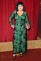 Jessica Ellis<br /> arrives for the British Soap Awards 2016 at Hackney Empire, London.<br /> <br /> <br /> &copy;Ash Knotek  D3124  28/05/2016
