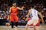 Rudy Fernandez of Spain during the Friendly match between Spain and Dominican Republic at WiZink Center in Madrid, Spain. August 22, 2019. (ALTERPHOTOS/A. Perez Meca)